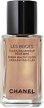 Düfte, Parfümerie und Kosmetik Flüssiger Highlighter - Chanel Les Beiges Sheer Healthy Glow Highlighting Fluid