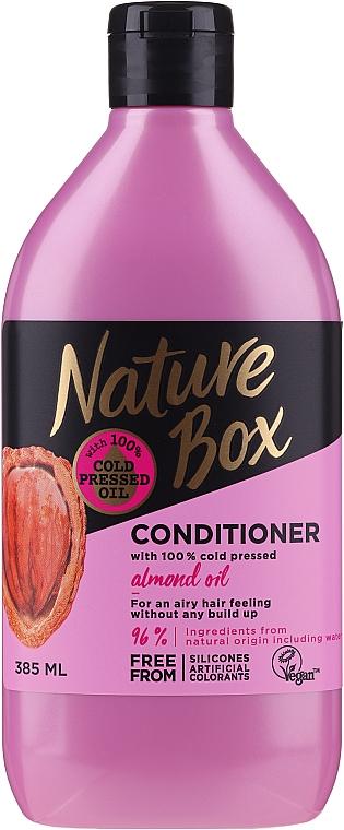 Haarspülung mit Mandelöl - Nature Box Almond Oil Conditioner
