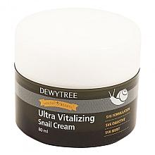 Düfte, Parfümerie und Kosmetik Ultra vitalisierende Gesichtscreme mit Schneckenschleimfiltrat - Dewytree Ultra Vitalizing Snail Cream