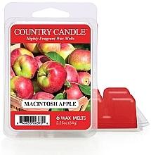 Düfte, Parfümerie und Kosmetik Duftwachs Macintosh Apple - Country Candle Macintosh Apple Wax Melts