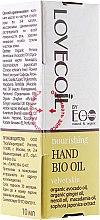 Düfte, Parfümerie und Kosmetik Pflegendes Handöl für samtige Haut - ECO Laboratorie Lovecoil Hand Bio Oil Velvet Skin
