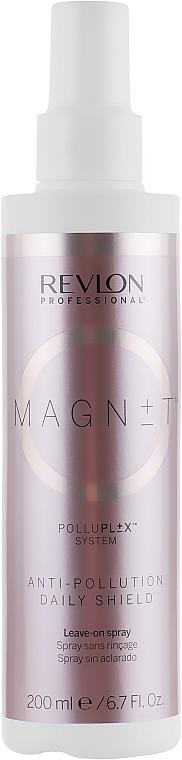 Schützendes Haarspray gegen Umwelteinflüsse und UV-Strahlung für täglichen Gebrauch ohne Ausspülen - Revlon Professional Magnet Anti-Pollution Daily Shield