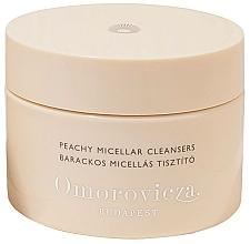 Düfte, Parfümerie und Kosmetik Reinigungspads mit Mizellenlösung für das Gesicht - Omorovicza Peachy Micellar Cleansers
