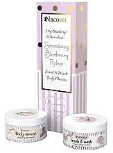 Düfte, Parfümerie und Kosmetik Körperpflegeset - Nacomi Blueberry Dream (Körpermousse 100ml + Peelingschaum für den Körper 100ml)
