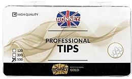 Düfte, Parfümerie und Kosmetik Transparente Nageltips 500 St. - Ronney Professional Tips