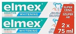 Düfte, Parfümerie und Kosmetik Zahnpasten 2 St. - Elmex Professional Sensitive Whitening Teeth
