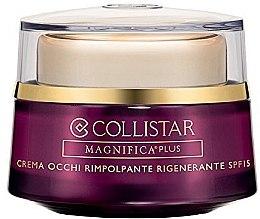 Düfte, Parfümerie und Kosmetik Regenerierende Augencreme SPF 15 - Collistar Magnificent Plus Regenerating Eye Cream Plumping