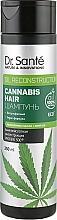Düfte, Parfümerie und Kosmetik Pflegendes Shampoo mit Hanföl für alle Haartypen - Dr. Sante Cannabis Hair Shampoo