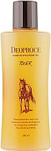 Düfte, Parfümerie und Kosmetik Pflegendes Anti-Falten Gesichtstonikum mit Hyaluronsäure und Pferdeöl - Deoproce Horse Oil Hyalurone Toner