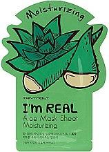 Düfte, Parfümerie und Kosmetik Aktive Feuchtigkeisspendende Gesichtsmaske - Tony Moly I'm Real Aloe