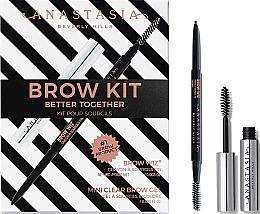 Düfte, Parfümerie und Kosmetik Anastasia Beverly Hills Better Together Brow Kit Taupe (Augenbrauenstift mit Bürstchenapplikator 0.085g + Augenbrauengel 2.5ml) - Augenbrauenset