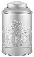 Düfte, Parfümerie und Kosmetik Blechdose für Talk und Puder - Proraso Tin Box