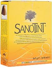 Düfte, Parfümerie und Kosmetik Aufhellungsset für Haare - Sanotint Lightening Kit (lightner/3x7g + activator/3x15ml)