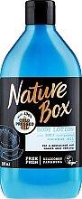 Düfte, Parfümerie und Kosmetik Feuchtigkeitsspendende und glättende Körperlotion mit kaltgepresstem Kokosöl - Nature Box Coconut Body Lotion