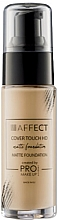 Düfte, Parfümerie und Kosmetik Mattierende Foundation - Affect Cosmetics Cover Touch Matte Foundation