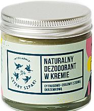 Düfte, Parfümerie und Kosmetik Deo-Creme mit Zitrusduft - Cztery Szpaki