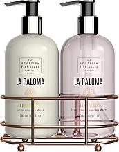 Düfte, Parfümerie und Kosmetik Handpflegeset - Scottish Fine Soaps La Paloma Hand Care Set (Handlotion 300ml + Flüssigseife 300ml)