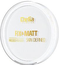 Düfte, Parfümerie und Kosmetik Gepresster Kompaktpuder - Delia Fix & Matt Skin Defined