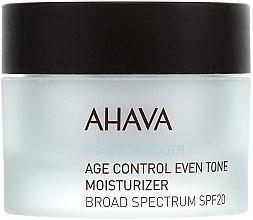 Feuchtigkeitsspendende und ausgleichende Anti-Aging Gesichtscreme SPF 20 - Ahava Age Control Even Tone Moisturizer Broad — Bild N2