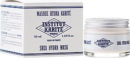 Düfte, Parfümerie und Kosmetik Feuchtigkeitsspendende Gesichtscreme-Maske mit Sheabutter - Institut Karite Milk Cream Shea Mask