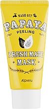 Düfte, Parfümerie und Kosmetik Reinigende klärende und erfrischende Peelingmaske für das Gesicht mit Papayaextrakt - A'pieu Fresh Mate Mask