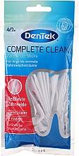 Düfte, Parfümerie und Kosmetik Zahnseide-Sticks mit Minzgeschmack und Fluorid - DenTek CompleteClean Zahnseide&Sticks