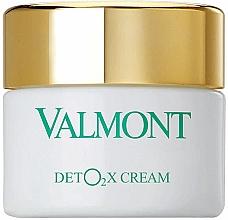 Düfte, Parfümerie und Kosmetik Entgiftende Sauerstoff-Gesichtscreme - Valmont Deto2x Cream