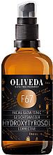 Düfte, Parfümerie und Kosmetik Korrigierendes und beruhigendes Gesichtstonikum für strahlenden und jugendlichen Glanz - Oliveda F67 Facial Toner Hydroxytyrosol Corrective