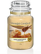 Düfte, Parfümerie und Kosmetik Duftkerze im Glas Sweet Honeycomb - Yankee Candle Sweet Honeycomb