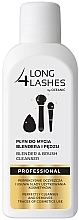 Düfte, Parfümerie und Kosmetik Reinigungsmittel für Make-up Pinsel und Schwämchen mit Baobab und Nachtkerzenöl - Long4Lashes Blender and Brash Cleanser