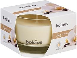 Düfte, Parfümerie und Kosmetik Duftglas Vanille - Bolsius True Scents Candle 63 mm x Ø90 mm