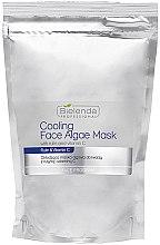Düfte, Parfümerie und Kosmetik Alginat-Gesichtsmaske mit Vitamin C - Bielenda Professional Cooling Face Algae Mask (Nachfüller)
