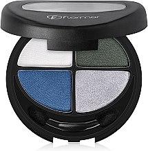 Düfte, Parfümerie und Kosmetik Lidschatten - Flormar Compact Quartet Eye Shadow