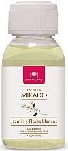 Düfte, Parfümerie und Kosmetik Aroma-Diffusor Refill Jasmin und weiße Blüten - Cristalinas Reed Diffuser Refill