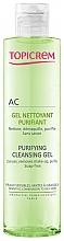 Düfte, Parfümerie und Kosmetik Gesichtsreinigungsgel - Topicrem Purifying Cleansing Gel