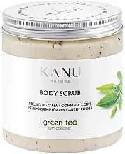 Düfte, Parfümerie und Kosmetik Peeling do ciała Zielona herbata - Kanu Nature Green Tea Body Scrub