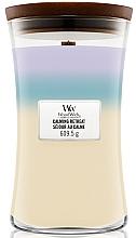 Düfte, Parfümerie und Kosmetik Duftkerze im Glas Calming Retreat - Woodwick Hourglass Trilogy Candle Calming Retreat