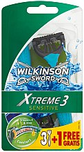 Düfte, Parfümerie und Kosmetik Rasierhobel - Wilkinson Sword Xtreme 3 Sensitive
