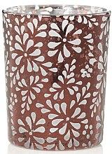Düfte, Parfümerie und Kosmetik Votivkerzenhaltern Sheridan aus strukturiertem Glas in Bernstein-Tönen - Yankee Candle Sheridan Holder