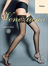 Düfte, Parfümerie und Kosmetik Lange Damenstrümpfe mit Spitzenband Ar Beautiful 20 Den panna - Veneziana