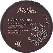 Düfte, Parfümerie und Kosmetik Glättendes Körperpeeling - Melvita L'Argan Bio Body Scrub