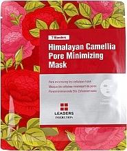 Düfte, Parfümerie und Kosmetik Tuchmaske zur Porenverfeinerung mit Kamelienöl - Leaders 7 Wonders Himalayan Camellia Pore Minimizing Mask
