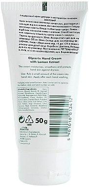 Glycerin-Handcreme mit Zitronenextrakt - Joanna Naturia Glycerin Protective Lemon Hand Cream — Bild N2