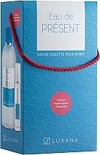 Düfte, Parfümerie und Kosmetik Luxana Eau De Present - Duftset (Eau de Toilette 1000ml + Eau de Toilette 50ml)