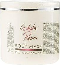 Düfte, Parfümerie und Kosmetik Gesichts- und Körpermaske Weiße Rose - Hristina Cosmetics Sezmar Professional Body Mask White Rose