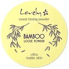 Düfte, Parfümerie und Kosmetik Gesichtspuder - Lovely Bamboo Loose Powder