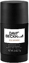 Düfte, Parfümerie und Kosmetik David Beckham Classic Deodorant Stick - Deodorant Stick für Männer
