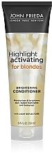 Düfte, Parfümerie und Kosmetik Feuchtigkeitsspendende Haarspülung für blonde Haare - John Frieda Sheer Blonde Highlight Activating Moisturising Conditioner