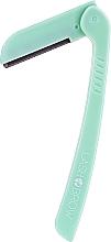 Düfte, Parfümerie und Kosmetik Faltbares Rasiermesser für Augenbrauen und Gesicht grün - Lash Brow