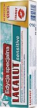 Düfte, Parfümerie und Kosmetik Zahnpflegeset - Lacalut Sensitive Special Edition Set (Zahnpasta 75ml + Zahnseide)